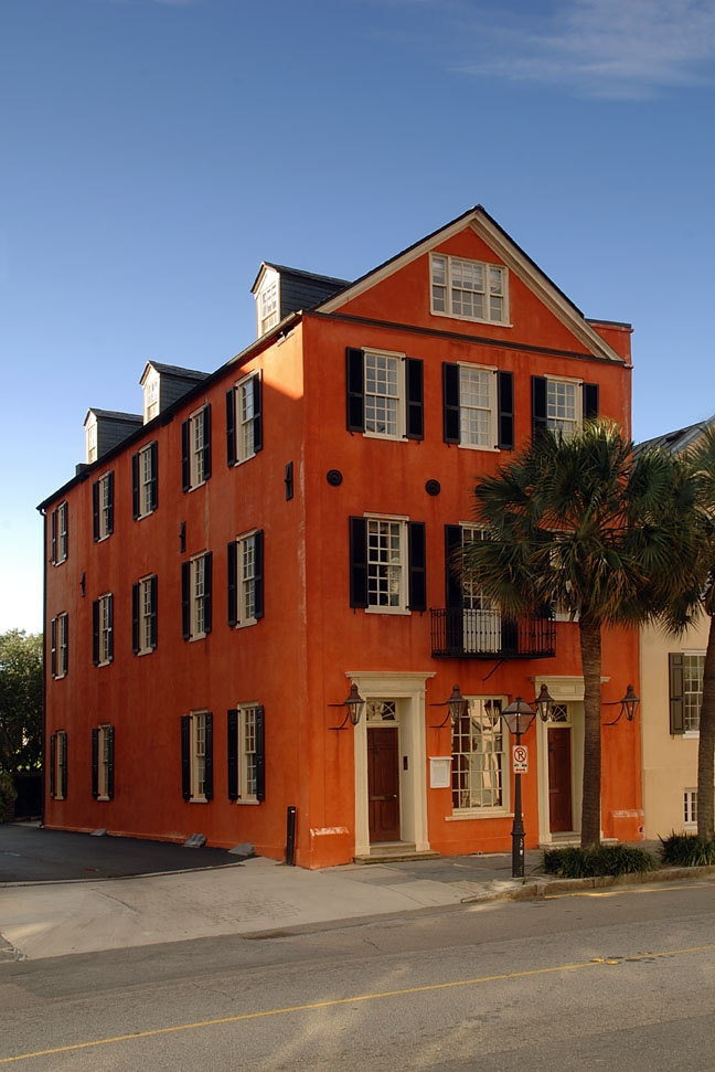 charleston home design%0A An exterior shot of our building     Broad Street   charleston  historic
