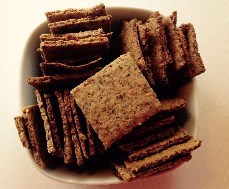 Recipe Gluten Free Crackers by Thermomixin' Kitchen Vixen - Recipe of category Baking - savoury
