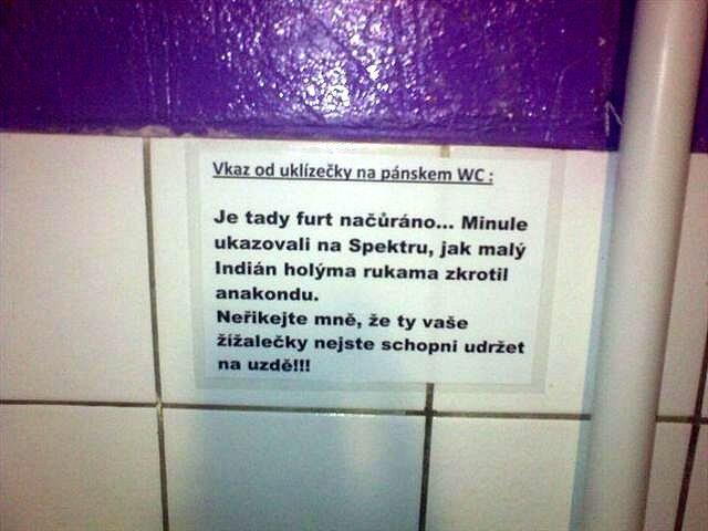 Uklízečky to nemají lehký | Vtipné obrázky - obrázky.vysmátej.cz