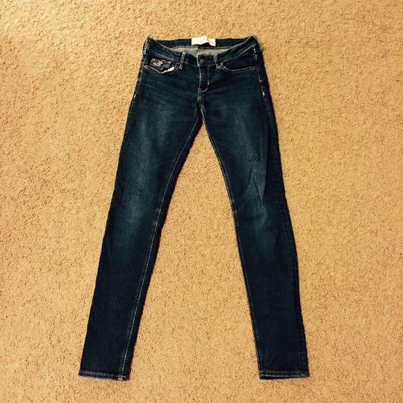 "Hollister jean. Denim Jean from Hollister. Barely worn. Straight leg. Inseam 30"". Size 3 Hollister Jeans"