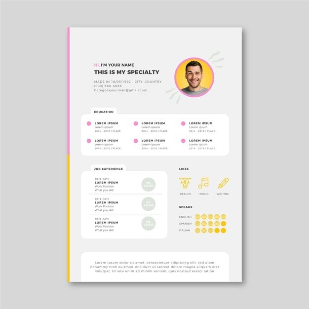 Some Consider Being A Stay At Home Mom Is The Very Best Job In The Earth And Witnessing The Big Milestones In Graphic Resume Infographic Resume Visual Resume