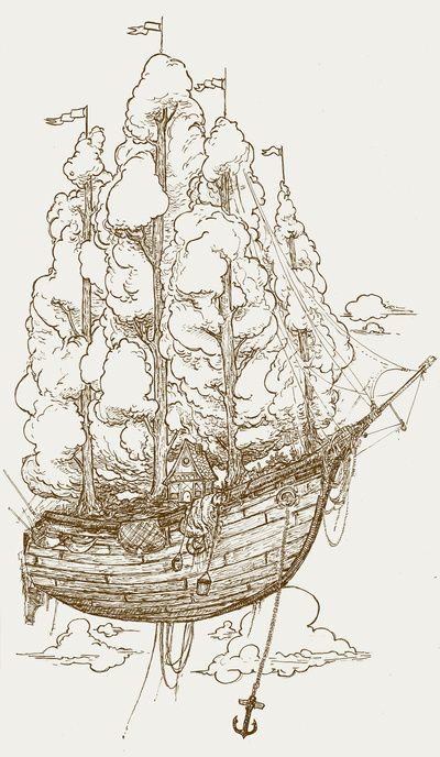 What I imagine Peter Pan's ship to look like.