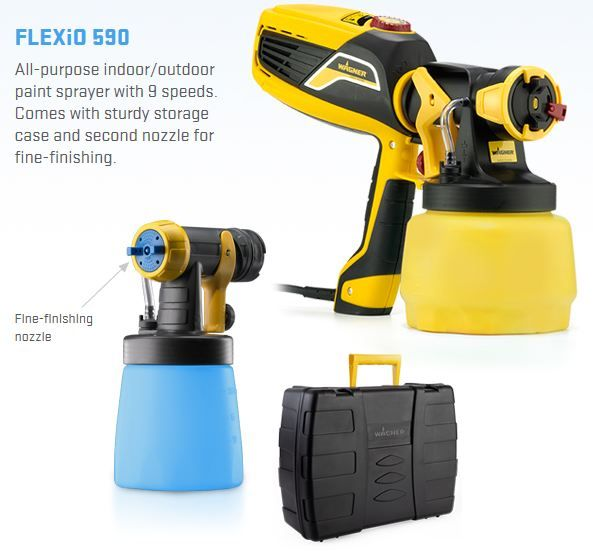 Wagner FlexiO 590 airless paint sprayer