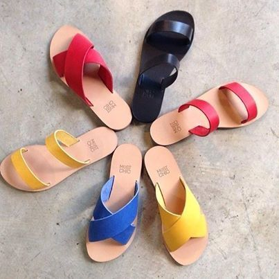 """Flash colors , for models """"lily"""" & """"cactus"""" must haves for this season from Most Chic sandals collection"""