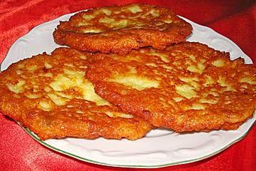 Kartoffelpuffer auf schlesische Art
