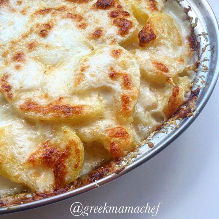 Potatoes au gratin!