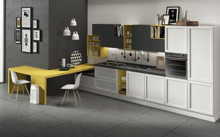 Dai un tocco di colore alla cucina e rinnova i tuoi spazi! Harmony ti permette di laccare la tua cucina in un'ampia gamma di finiture, moderne e vivaci. #arredamento #cucine #design #stile #colore  HARMONY EASY » www.cucinesse.it/cucine/harmony/