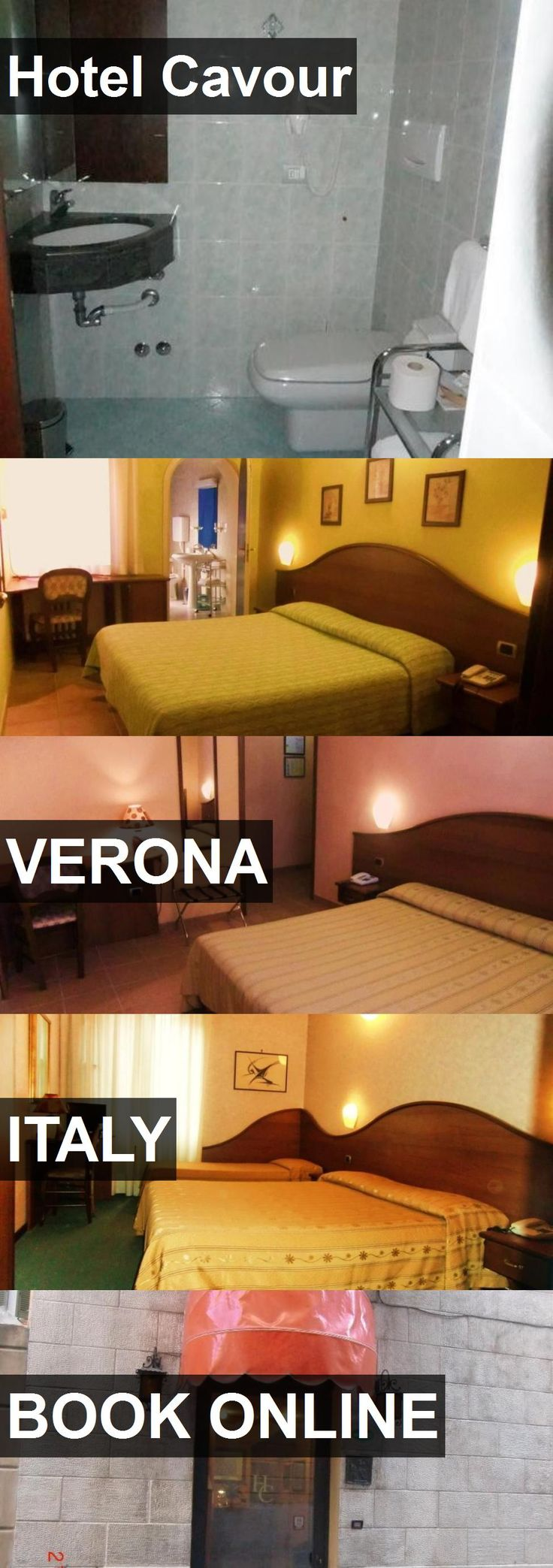 Hotel Hotel Cavour in Verona, Italy. For more information, photos, reviews and best prices please follow the link. #Italy #Verona #HotelCavour #hotel #travel #vacation