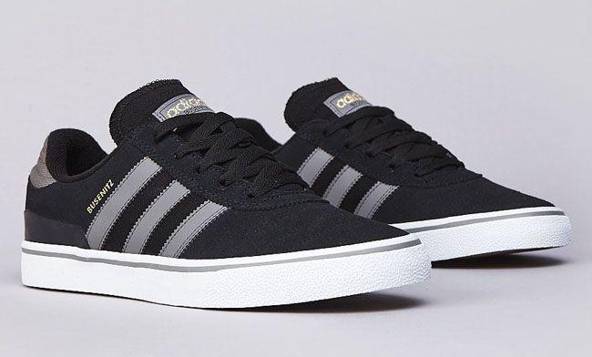 adidas Skateboarding Busenitz Vulc | Black & Grey