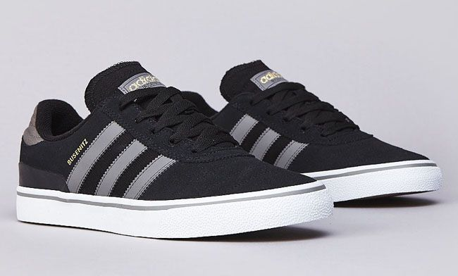 Adidas Originals Busenitz Vulc Leather Skate Shoes