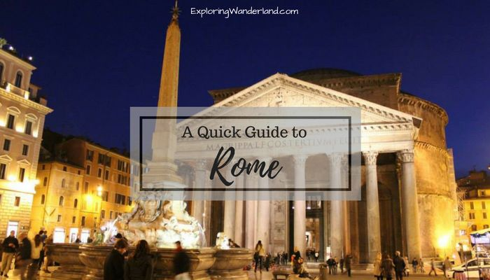 Your CITY GUIDE to ROME