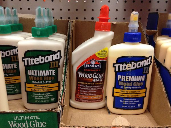 Learn about the different types of wood glue and how to choose a glue that works well for your project.