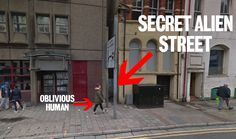 You can actually find the hidden street from Doctor Who's Face The Raven in Cardiff