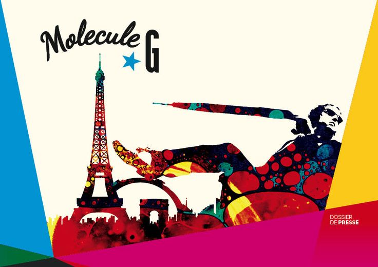 Molecule G, Graphic Design of a press kit and new visual identity