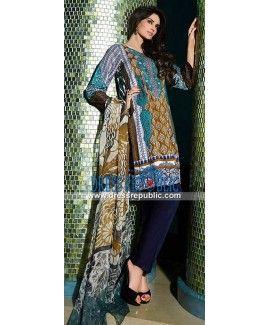 HSY Lawn Collection 2015 Pakistani Designer Suits Online