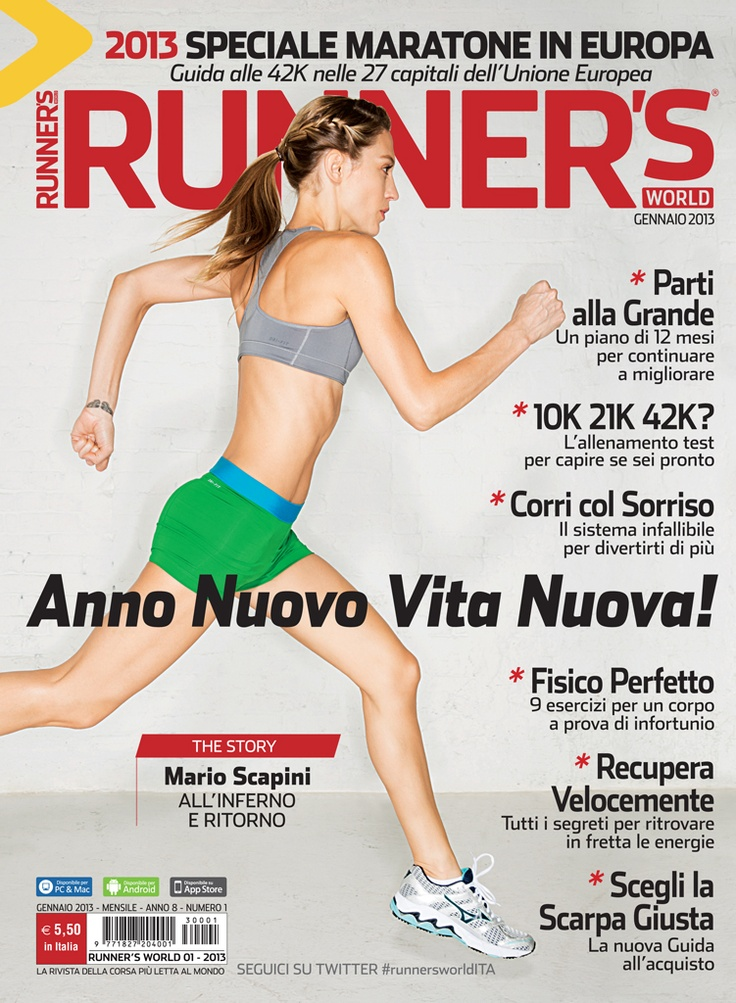 Runner's World Italia, Anno 8, Numero 1, Gennaio 2013 - www.runnersworld.it