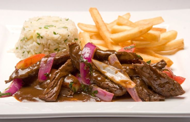 Lomo saltado, Chinese inspired feast for the senses May 13, 2011 Lomo Saltado, Stir-fried Peruvian Sirloin Steak