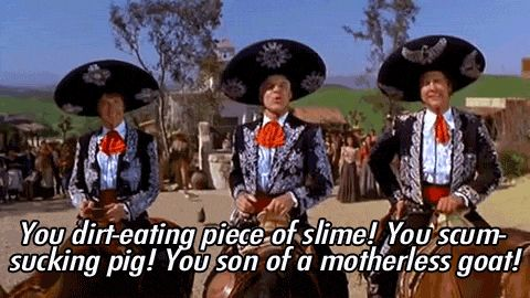 Three Amigos quotes,?Three Amigos! (1986) Director: John Landis, Stars: Steve Martin, Chevy Chase, Martin Short 1. Jefe: Forgive me, El Guapo. I know that I, Jefe, do not have your superior intellect and education. But could it be that once again, you are angry at something else, and are looking to take it out on me?…