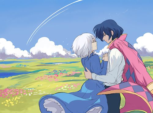 Howl and Sophie:ハウルの動く城 Howl's Moving Castle