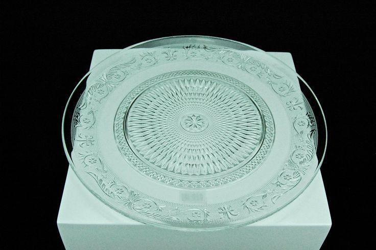 Platzteller Glas klar 33cm