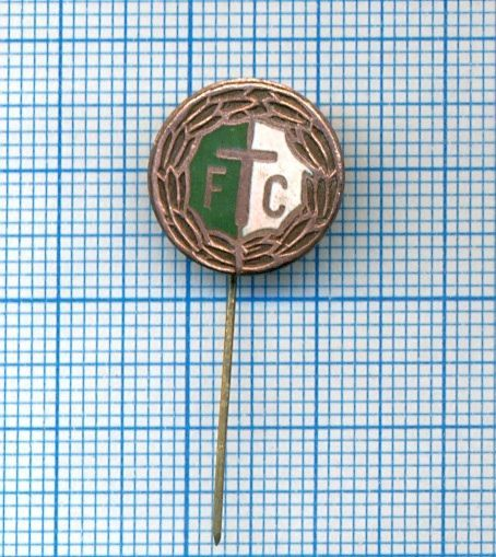 Old Football Club Badge/Pin Ferencvarosi TC Budapest Hungary (model #4)
