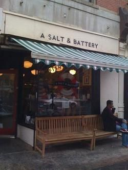 A Salt and Battery - fish & chips shop
