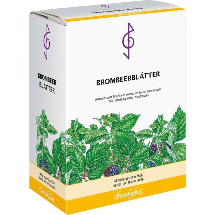 BROMBEERBLÄTTER Tee:   Packungsinhalt: 75 g Tee PZN: 05488868 Hersteller: Bombastus-Werke AG Preis: 2,17 EUR inkl. 7 % MwSt. zzgl.…