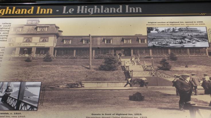 The old Highland Inn on Cache Lake Algonquin Park 2009