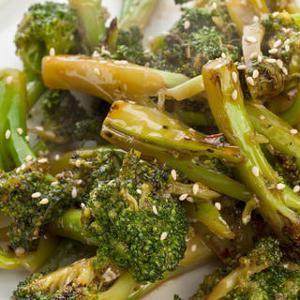 Sautéed Asian Broccoli Recipe from Chow, found @Edamam! #recipe #vegetarian #broccoli