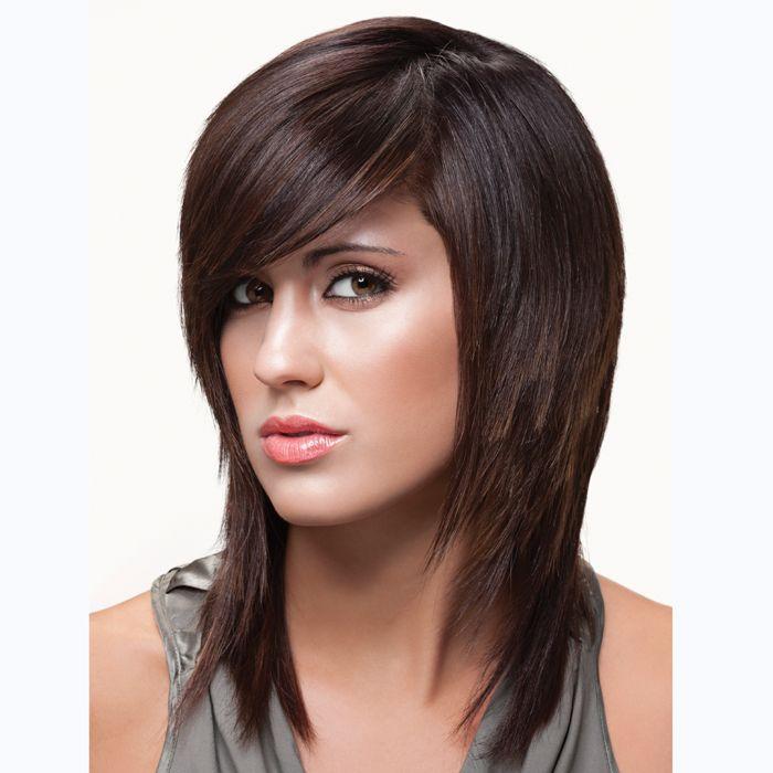 Face Framing Mid-Length Cut