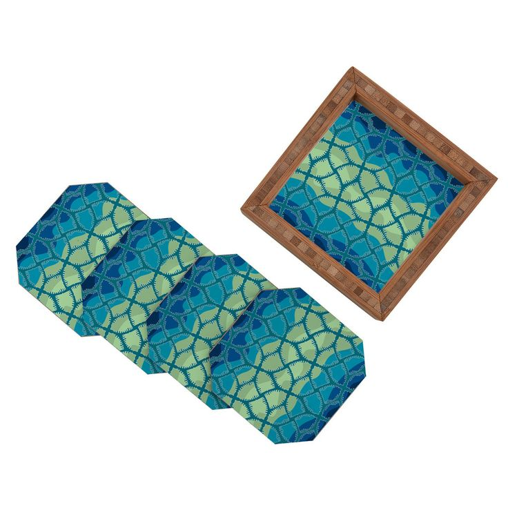 karen harris nocturnical cool coaster set