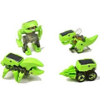 #robot #kits #solarcell 4 in 1 @ 120.000