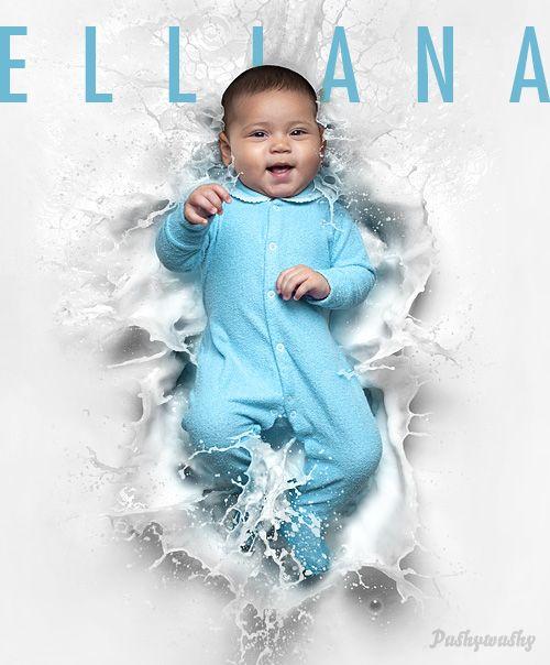 Milk featuring Elliana