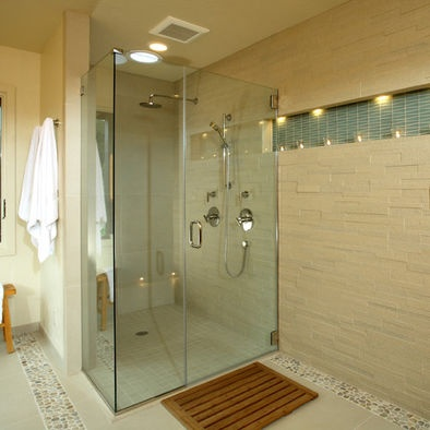 Contemporary Rain Shower Design Pictures Remodel Decor