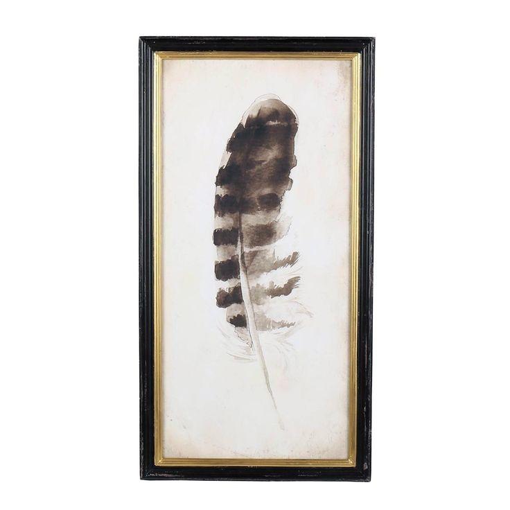 Foreside Home & Garden - Navajo Feather Wall Art