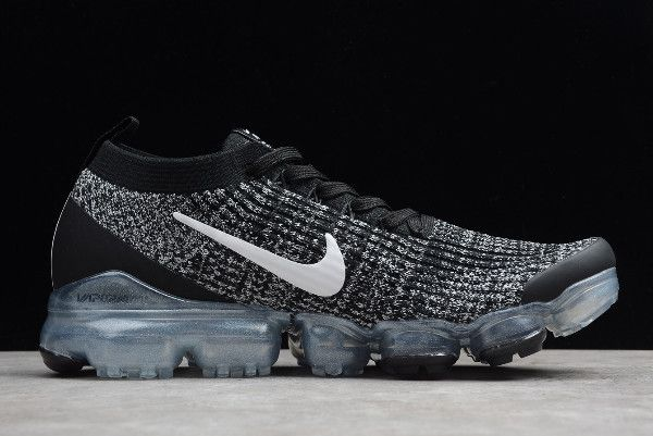 New Nike Air VaporMax Flyknit 3.0 BlackWhite AJ6910 001 in