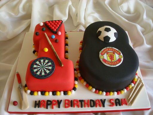 18th Man Utd cake
