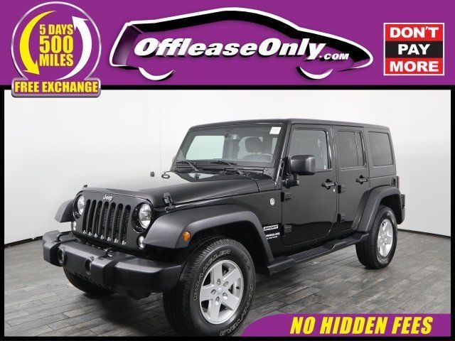 Ebay 2015 Wrangler Unlimited Sport 4x4 Off Lease Only 2015 Jeep