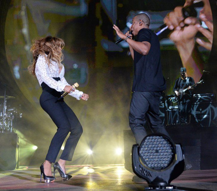 Pin for Later: Beyoncé Steals the Show at Jay Z's Big Concert