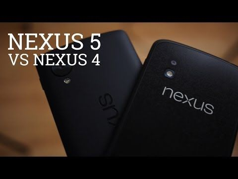▶ Nexus 5 vs Nexus 4 - YouTube