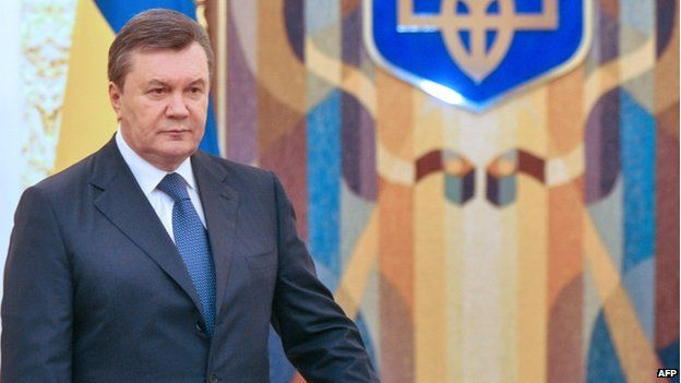 Protesters want nothing less than President Viktor Yanukovych's resignation