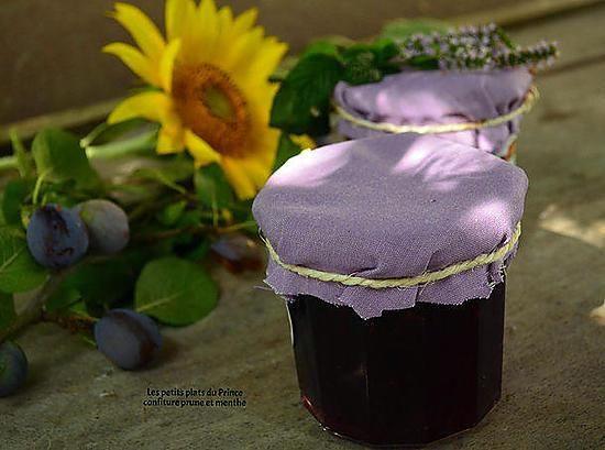 La meilleure recette de CONFITURE DE PRUNE ET MENTHE FRAICHE! L'essayer, c'est l'adopter! 5.0/5 (2 votes), 2 Commentaires. Ingrédients: - 1,5 kg de prunes rouges - 1 bouquet de menthe fraiche - 1 kg de sucre - 1 jus de citron ou 1 cuiller à soupe de vinaigre