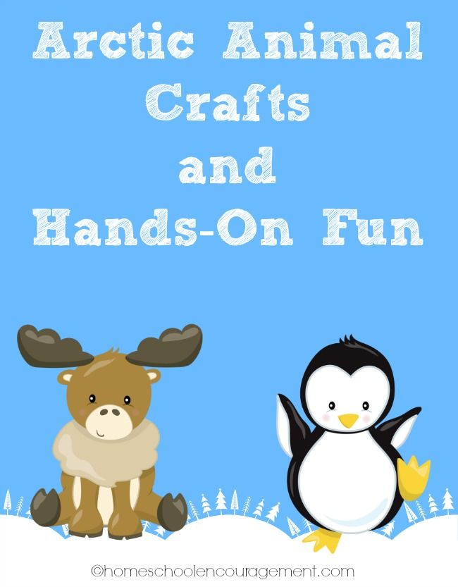Arctic Animal Crafts and Hands On Fun: Plus Free Printables