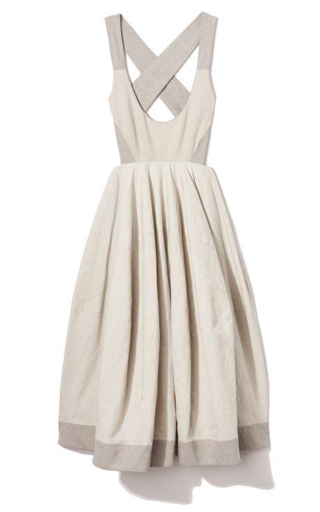 Jersey Bodice Dress by Donna Karan for Preorder on Moda Operandi