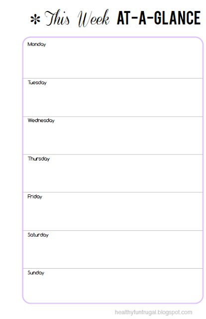 680 best Filofax images on Pinterest Happy planner, Organizers - printable weekly planner