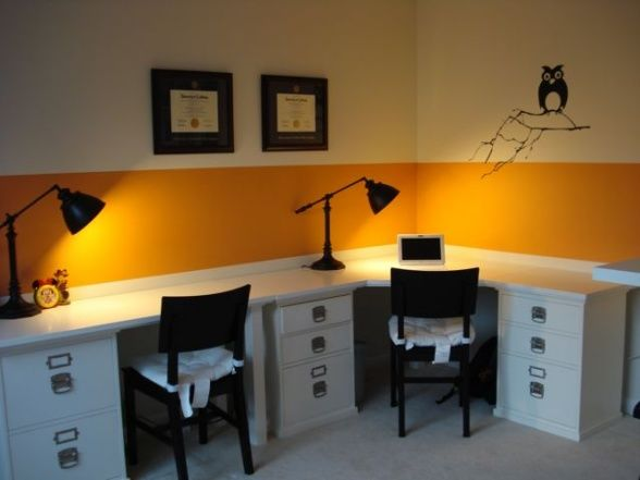 Like the desk layoutSimple and money saving design for a small