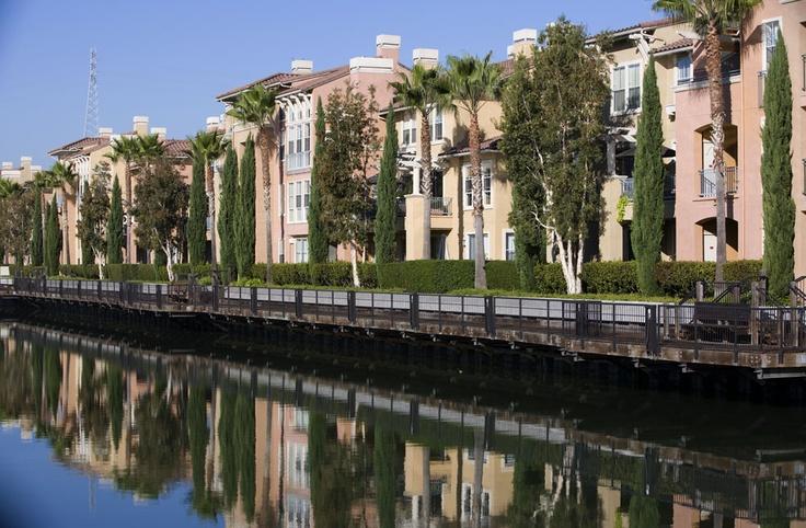 Luxury Italian marina style apartments on a beautiful peninsula setting at The Villas at Bair Island in Redwood City.  #luxury #marina #apartment #harbor #norcal  http://www.rental-living.com/Communities/The-Villas-at-Bair-Island/