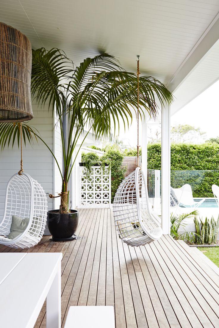 #terraza #balancin #hamaca #madera #porche