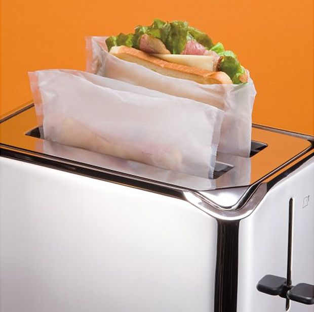TOASTit Toaster Bags  to help with cross-contamination