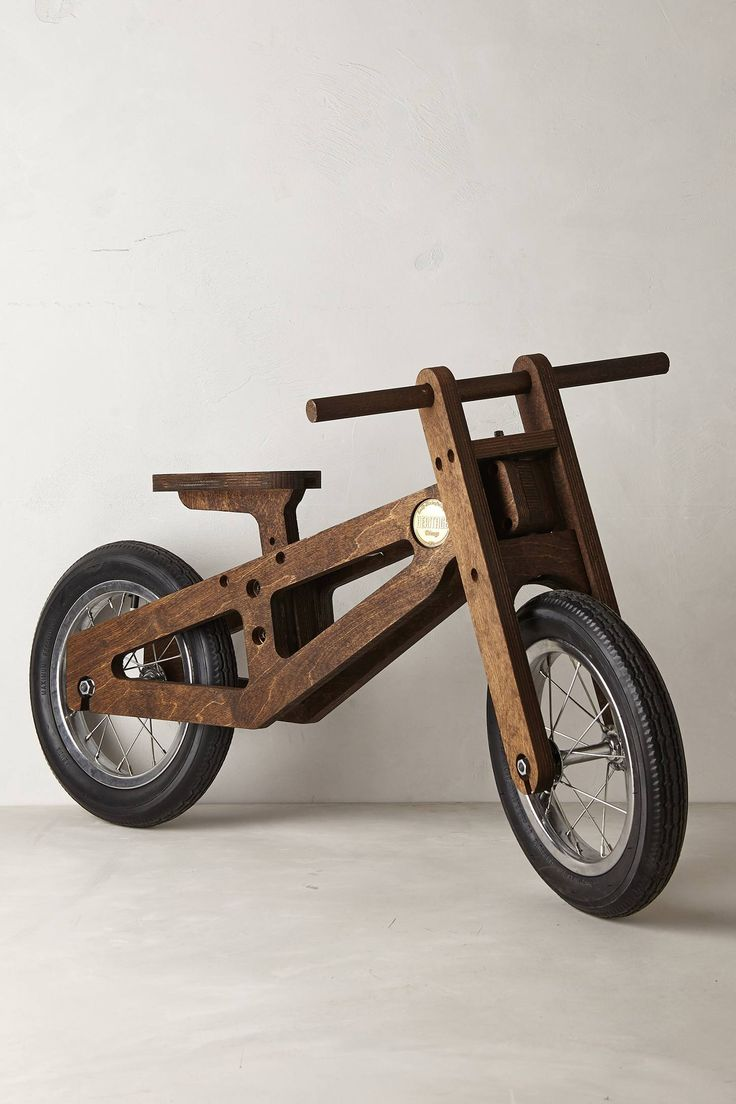 Well, this is pretty cool! Bennett Balance Bike - anthropologie.com http://www.anthropologie.com/anthro/product/home-giftswelove/30567044.jsp